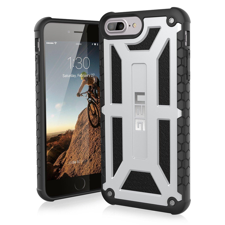 UAG Θήκη Monarch Feather-Light Series iPhone 8 Plus / iPhone 7 Plus - Platinum