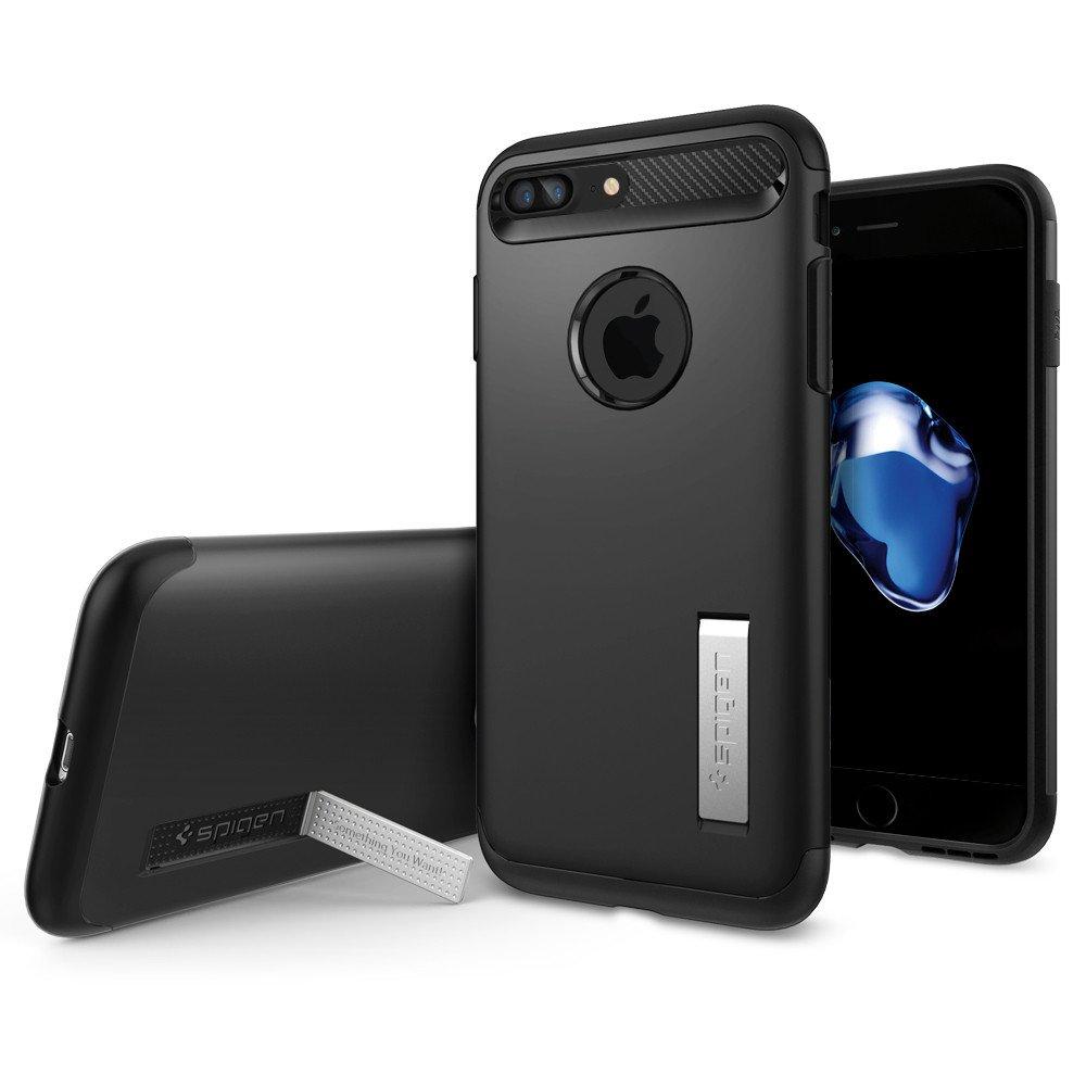 Spigen Θήκη Slim Armor for  iPhone 8 Plus / 7 Plus - Black (043CS20648)