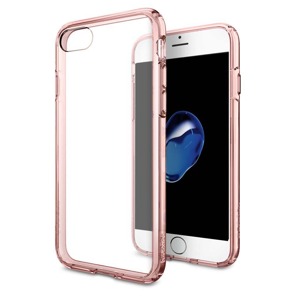 Spigen Θήκη Ultra Hybrid iPhone 7 - Rose Crystal (042CS20445) θήκες κινητών