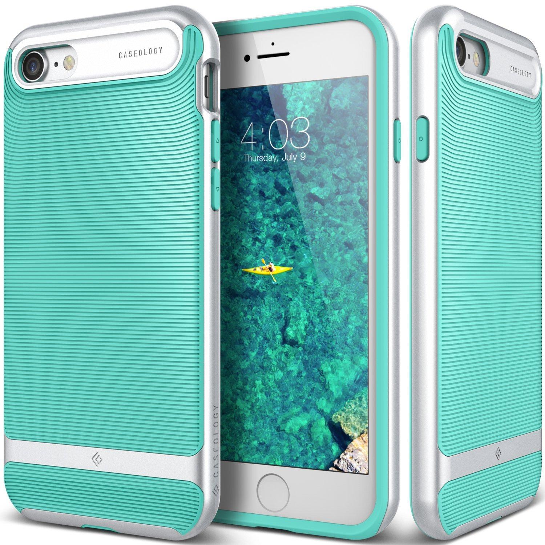 Caseology Θήκη Wavelength Series iPhone 7 - Turquoise Mint (CO-IP7-GRL-TQ) θήκες κινητών