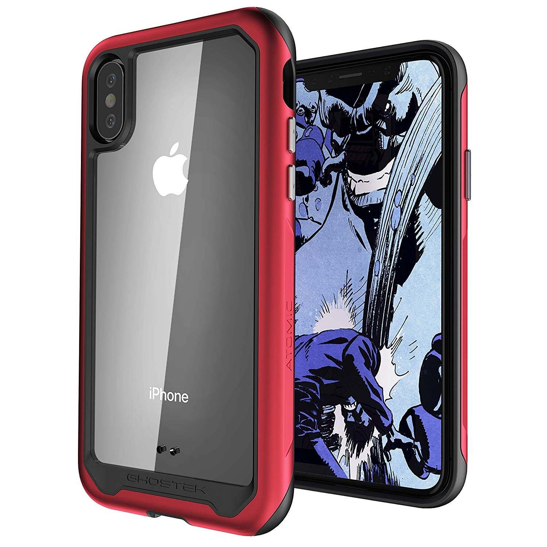 Ghostek Atomic Slim 2 Θήκη iPhone X/ XS - Red (GHOCAS1032)