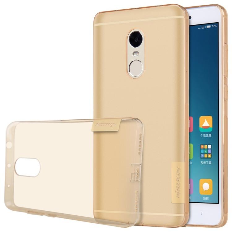 Nillkin Nature Ημιδιάφανη Θήκη Σιλικόνης Xiaomi Redmi Note 4 - Brown (139197)