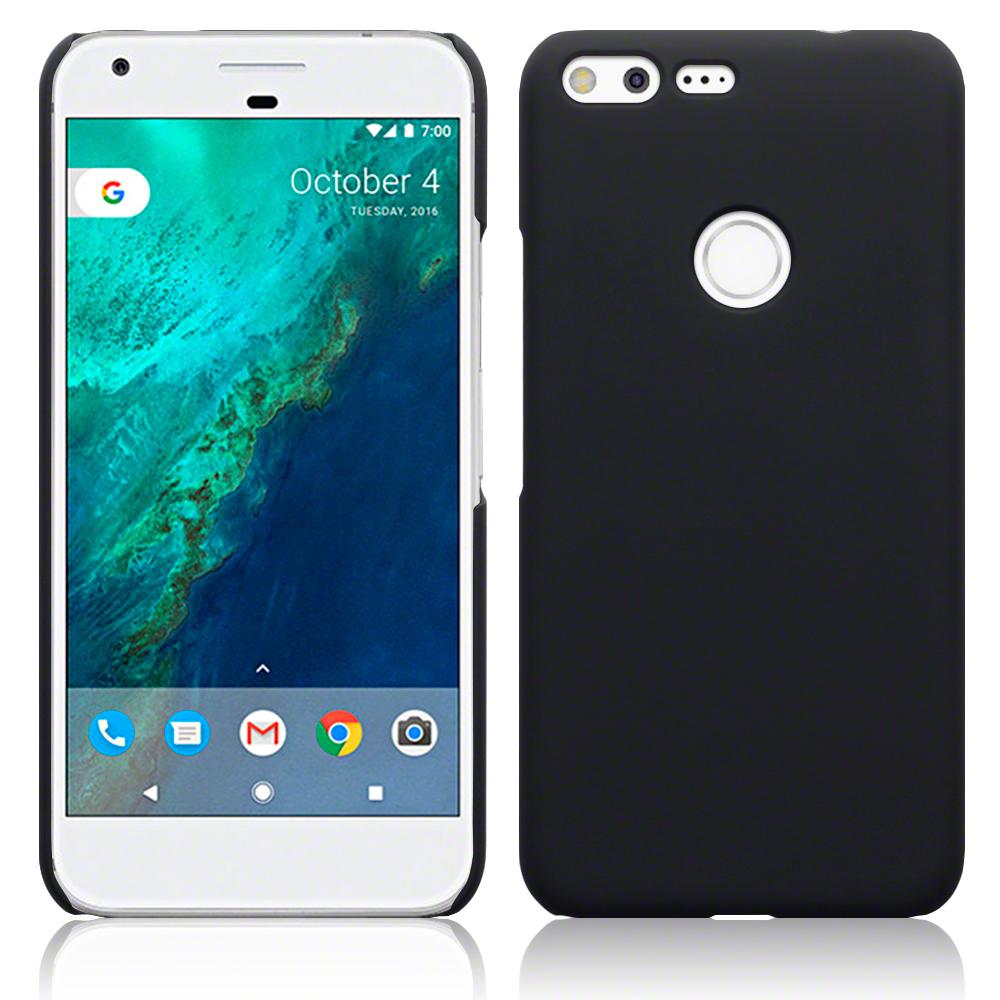 Terrapin Σκληρή Θήκη Καουτσούκ Google Pixel XL - Black (151-028-097) θήκες κινητών