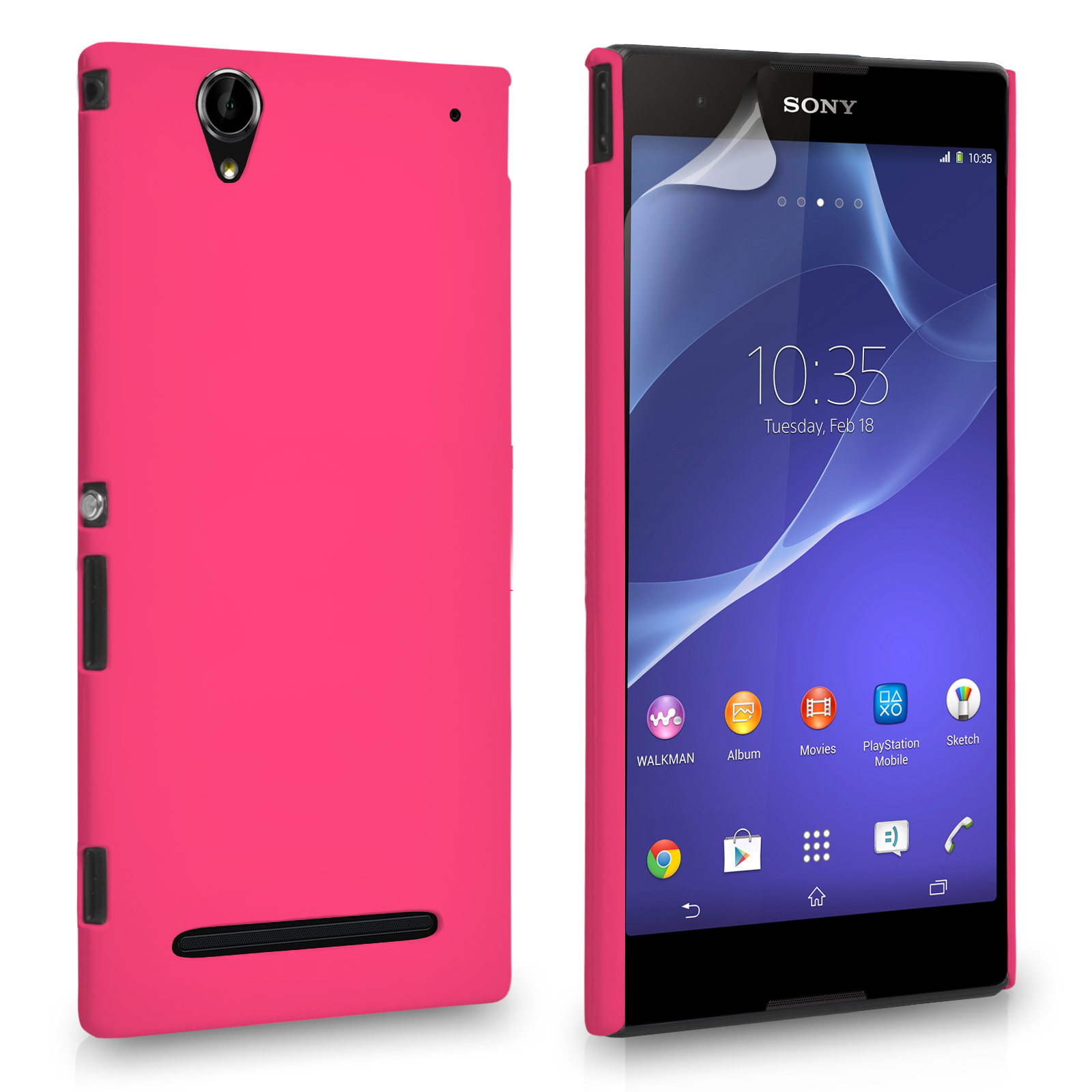 Θήκη Sony Xperia T2 Ultra by YouSave (Z579)
