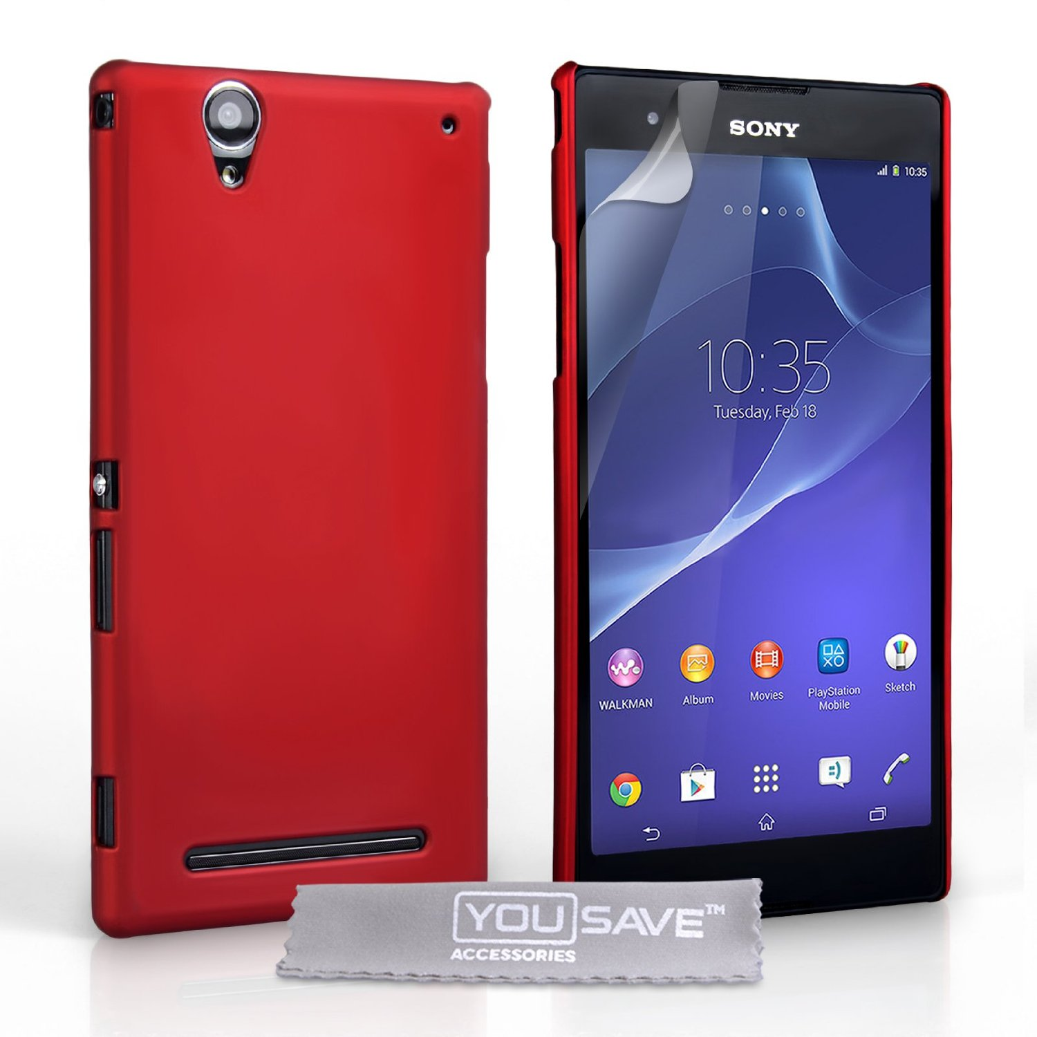Θήκη Sony Xperia T2 Ultra by YouSave (Z581)