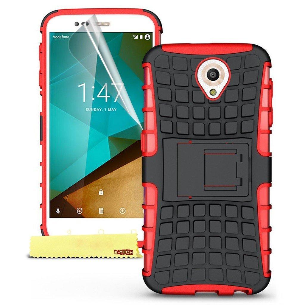 Ανθεκτική Θήκη Vodafone Smart Prime 7 - Κόκκινο (9692) - OEM