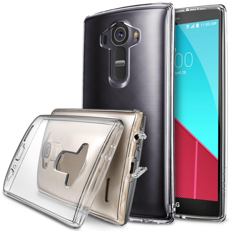 Ringke (Fusion) Θήκη LG G4 με TPU Bumper + Screen Protector - Clear