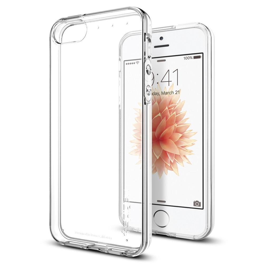 Spigen Θήκη TPU Liquid Crystal iPhone SE/5S/S - Clear (041CS20247)