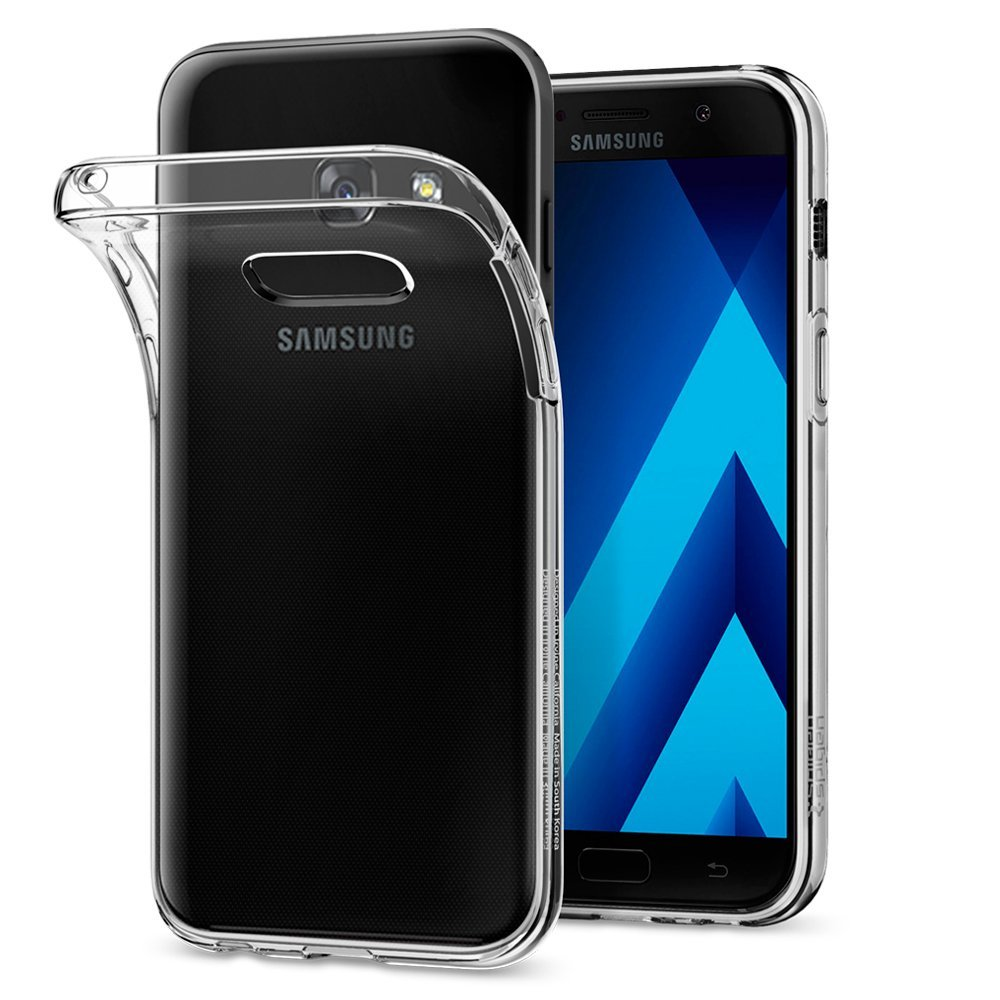 Spigen Θήκη TPU Liquid Crystal Samsung Galaxy A3 2017 - Crystal Clear (572CS21141)