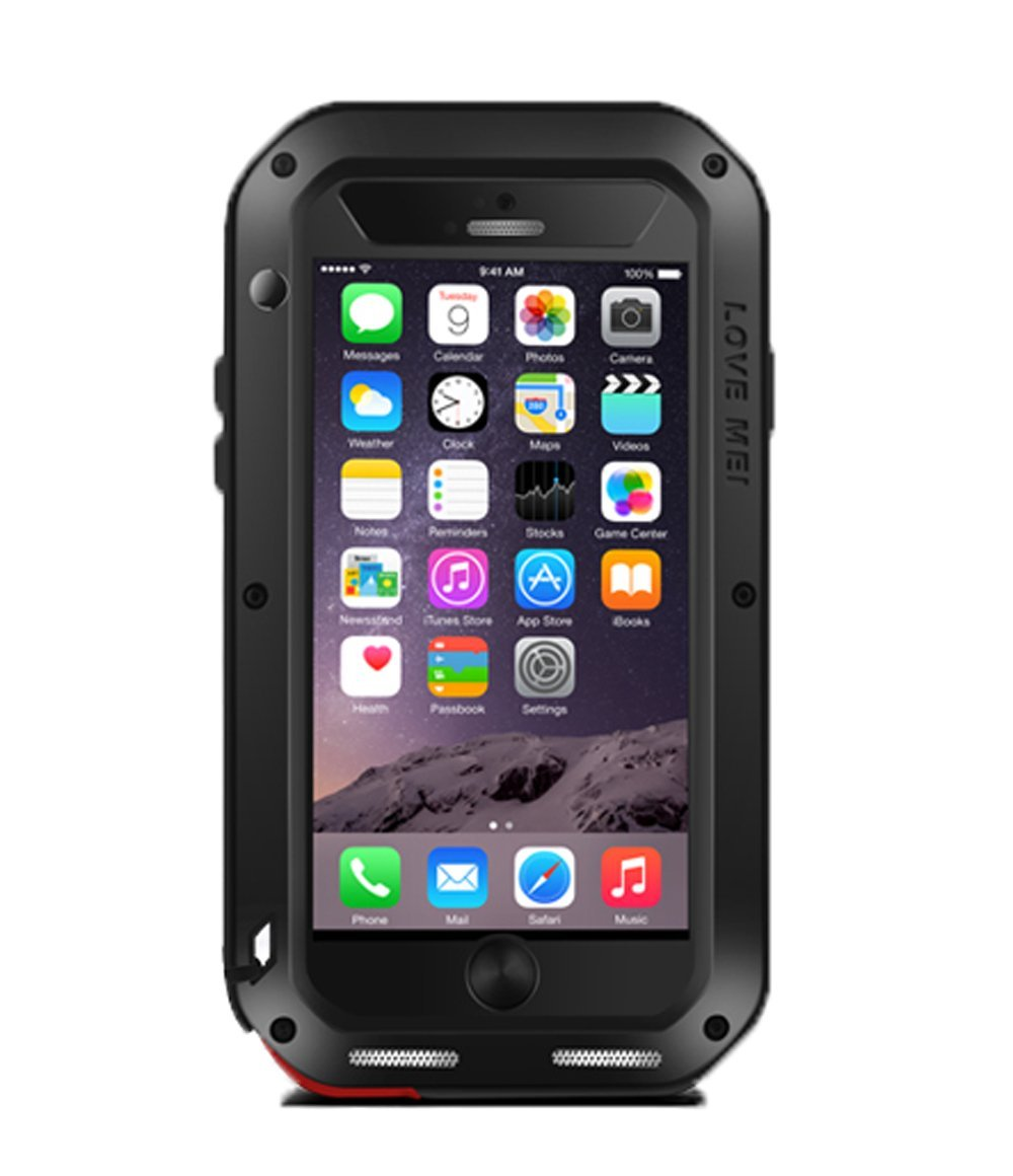 Love Mei Powerful Θήκη iPhone 6 Plus/6S Plus - Black (160152)