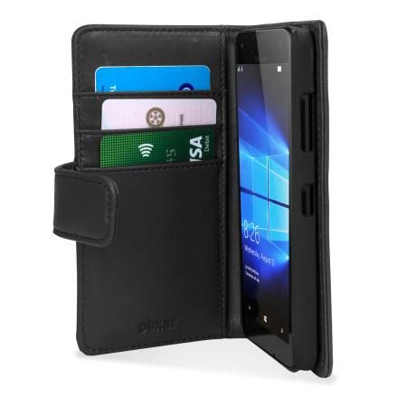 Δερμάτινη Θήκη Microsoft Lumia 550 - Πορτοφόλι by Olixar (56159)