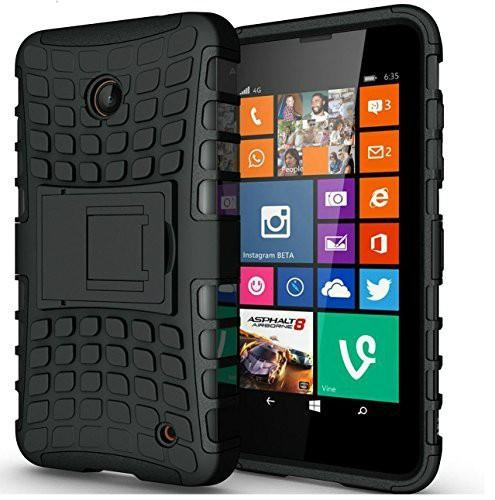 Ανθεκτική Θήκη Vodafone Smart First 7 - Μαύρο (9963) - OEM
