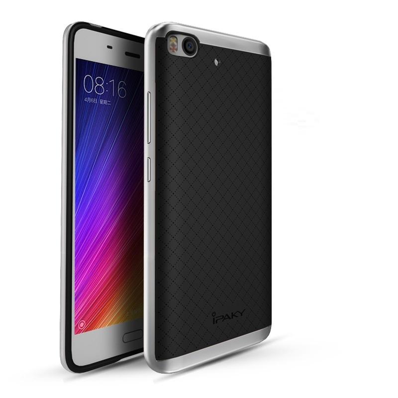 Ipaky Θήκη Hybrid Xiaomi Mi 5s - Black/Silver (10116)