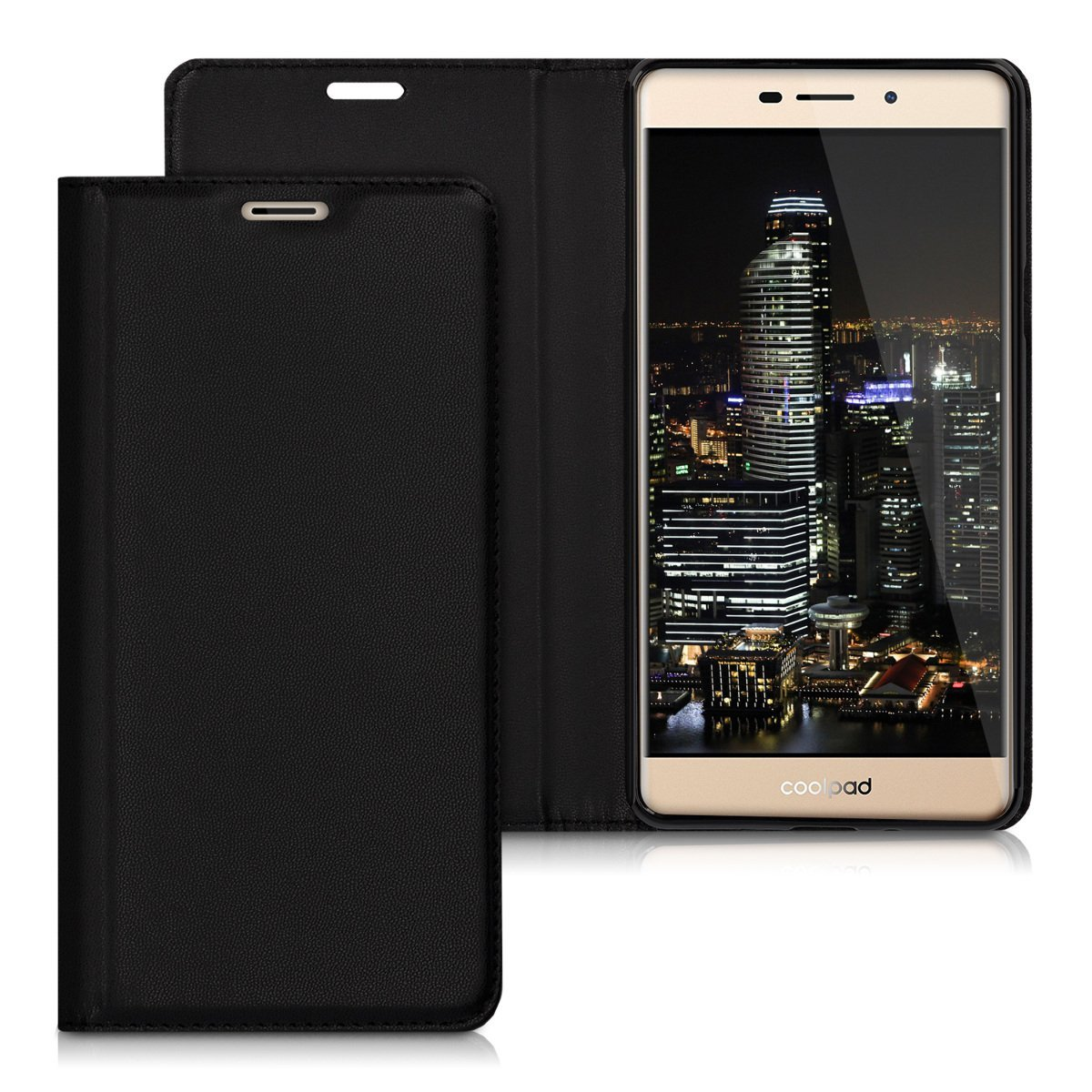 KW Flip Θήκη Coolpad Modena 2 - Black (40293.01)