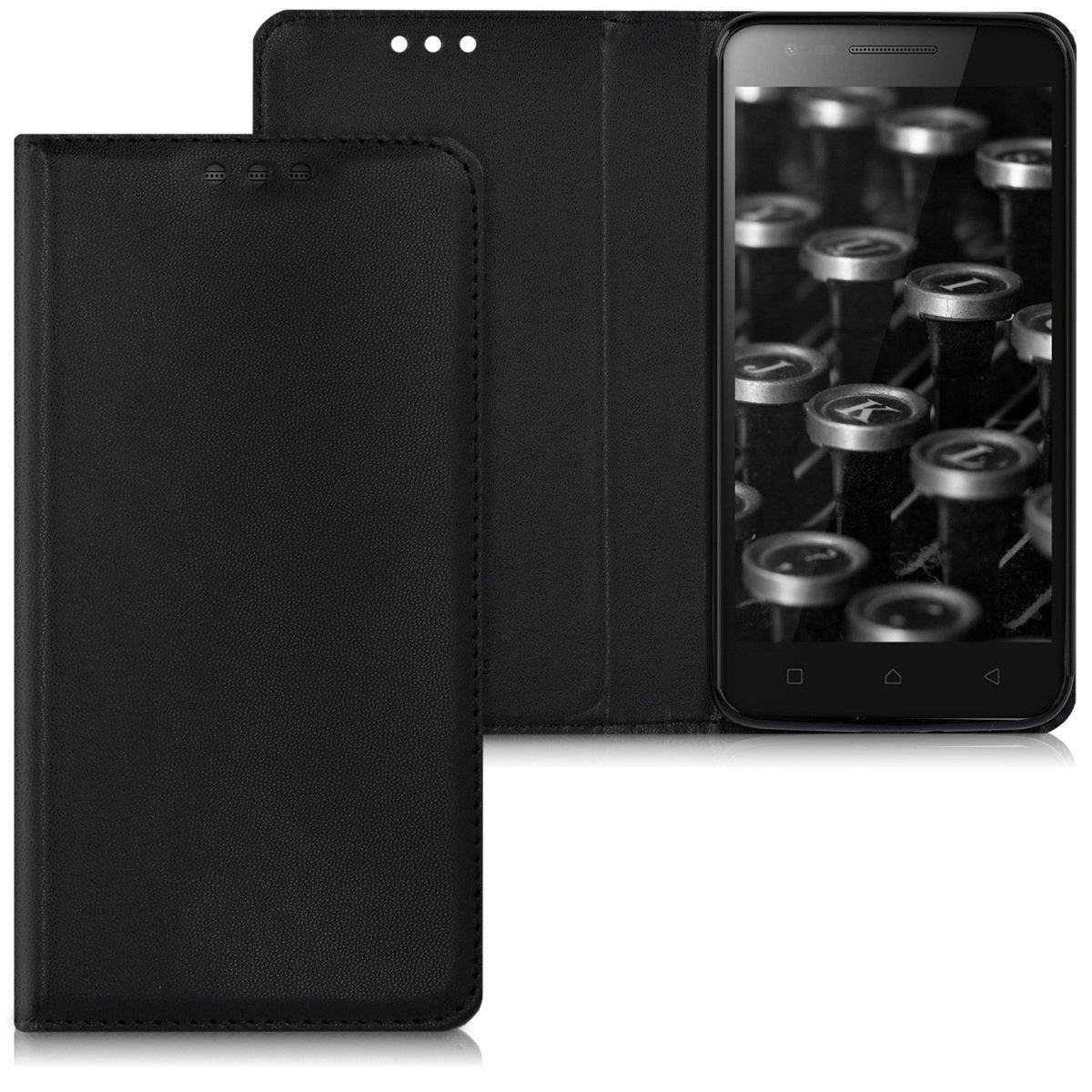 KW Flip Θήκη Lenovo C2 - Black (40502.01)