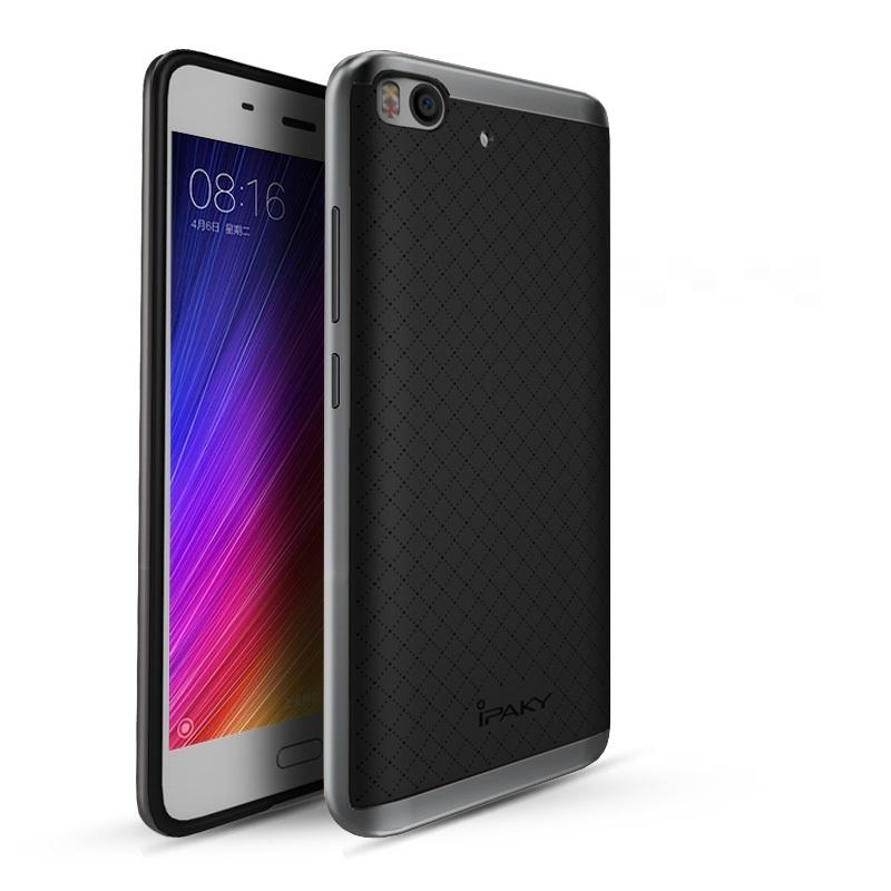 Ipaky Θήκη Hybrid Xiaomi Mi 5s - Black/Grey (10117)