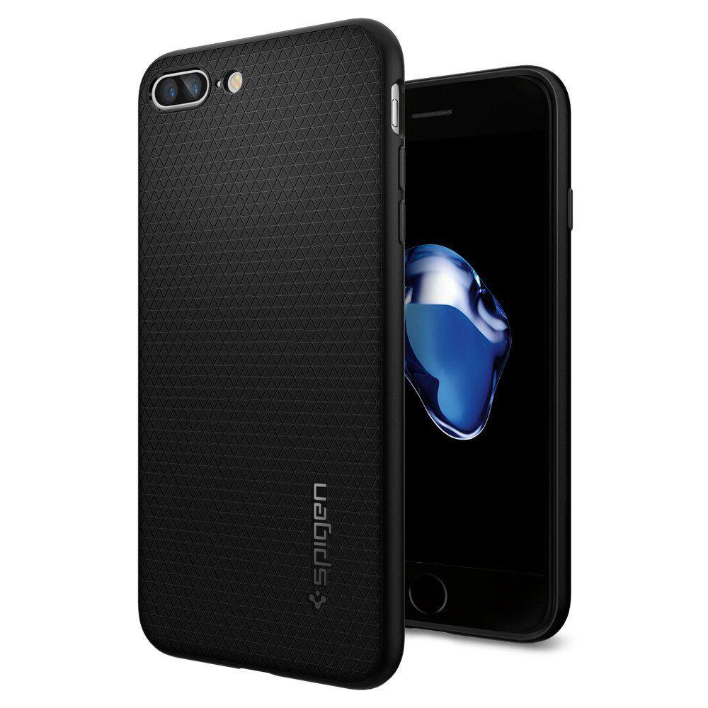 Spigen Θήκη Liquid Armor iPhone 8 Plus / iPhone 7 Plus - Black (043CS20525)