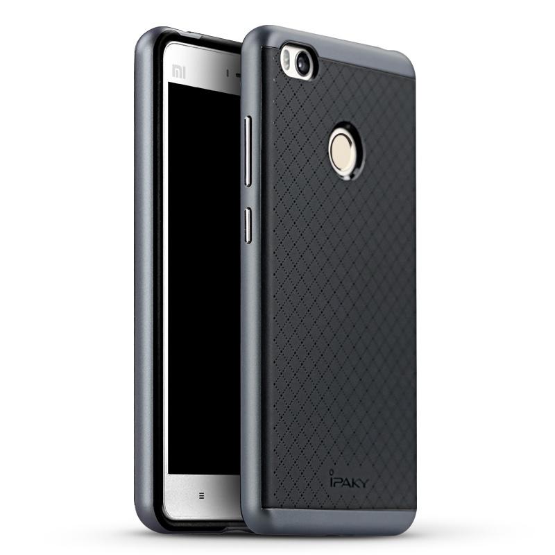 Ipaky Θήκη Hybrid Xiaomi MI4S - Black/Grey (9324)