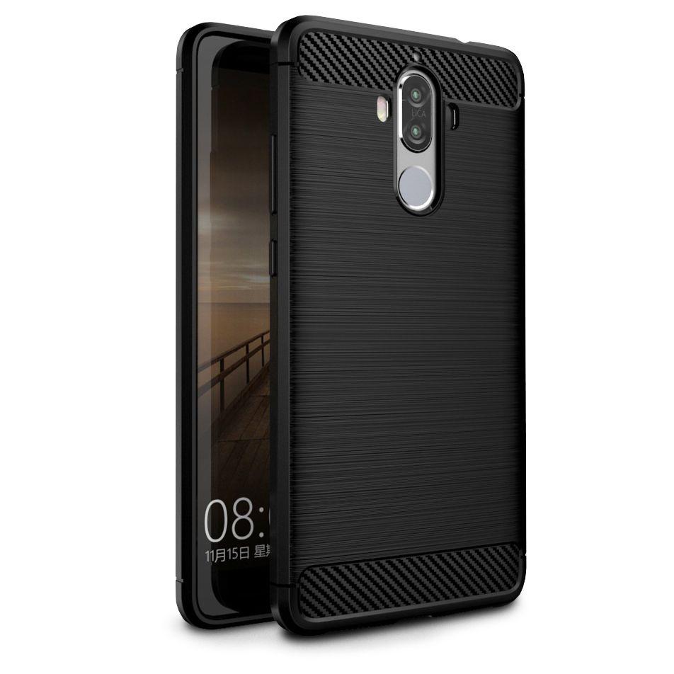 Θήκη TPU Carbon Huawei Mate 9 - Black (9196) - OEM