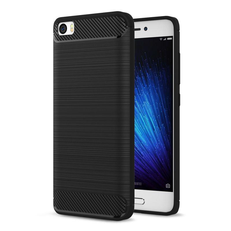 Θήκη TPU Carbon Xiaomi Mi 5 - Black (9348) - OEM