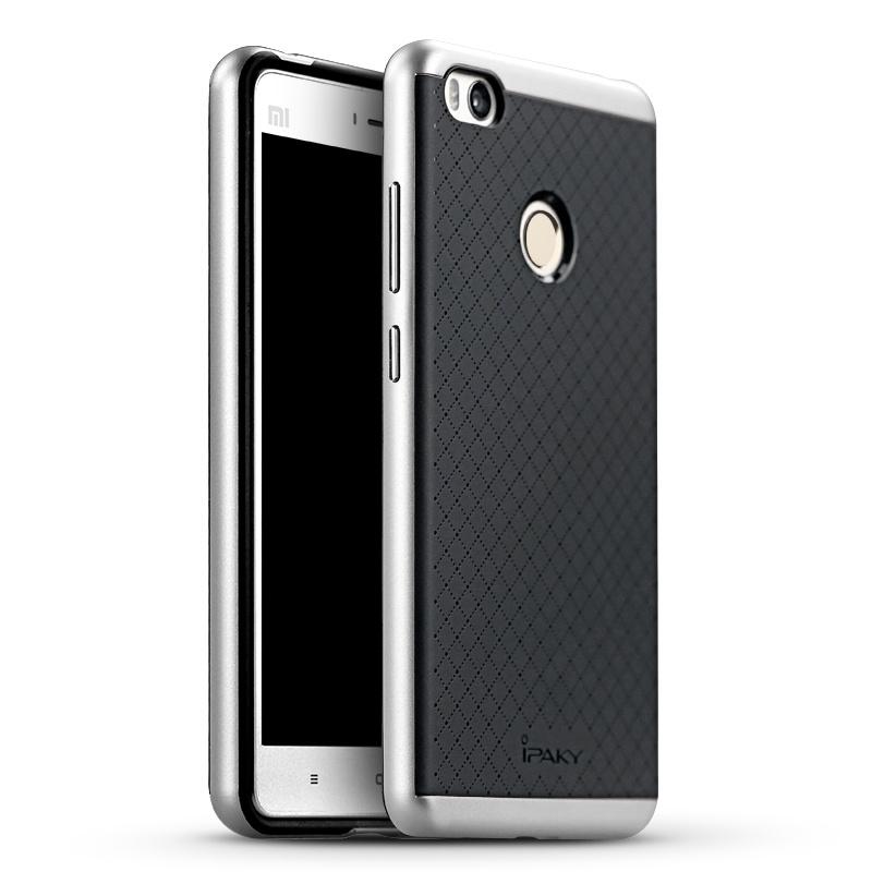 Ipaky Θήκη Hybrid Xiaomi MI4S - Black/Silver (9323)