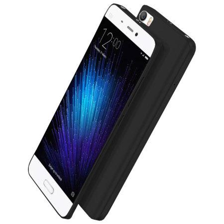 Olixar Θήκη Σιλικόνης Xiaomi Mi 5 - Solid Black (59937)