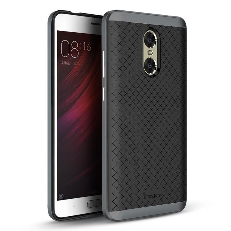 Ipaky Θήκη Hybrid Xiaomi Redmi Note 4 - Black/Grey (9313)