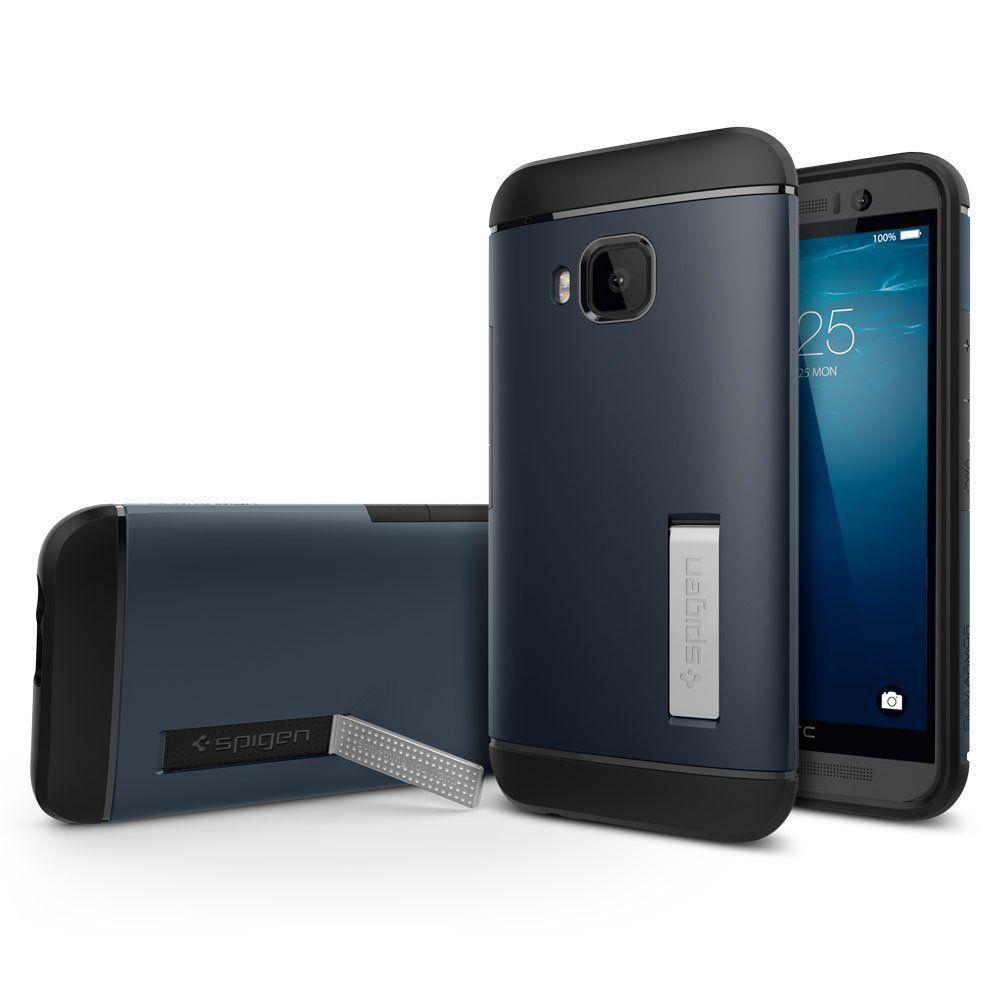 Spigen Θήκη Slim Armor for HTC One M9 - Metal Slate (SGP11387)