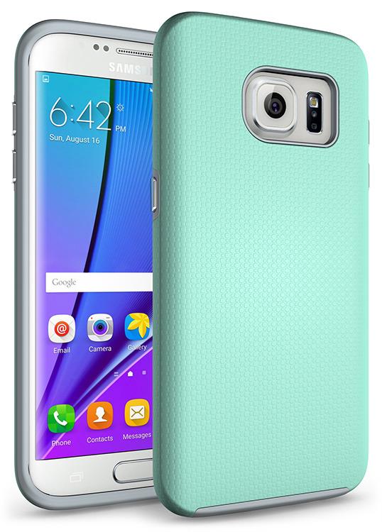 SHTL Dual Tough Θήκη Samsung Galaxy S7 Edge - Mint (101292)