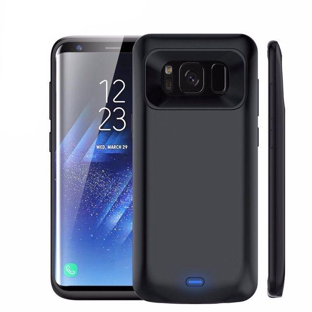 Θήκη με Ενσωματωμένη Μπαταρία 5000mAh Samsung Galaxy S8 - Fast Charge - Black (14500) - OEM