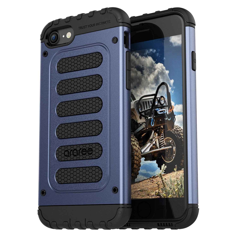 Araree Wrangler Force Θήκη Rugged iPhone 8 / 7 - Gravity Blue