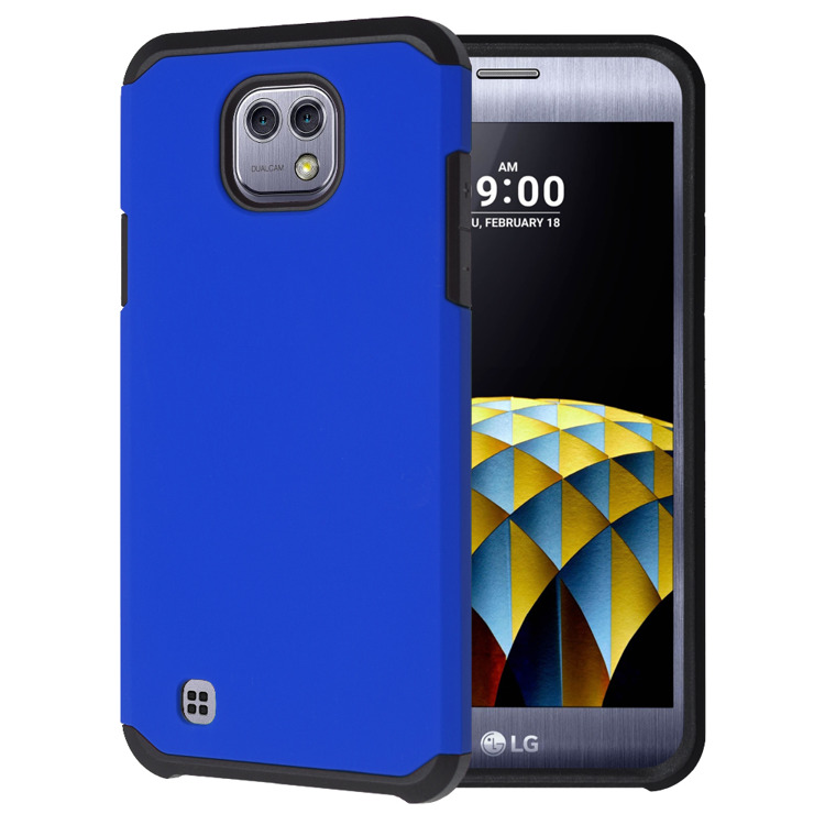 SHTL Dual Armor Θήκη LG X Cam - Blue (137776)