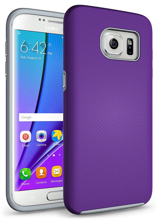SHTL Ανθεκτική Θήκη Samsung Galaxy S7 Edge - Purple (101294)