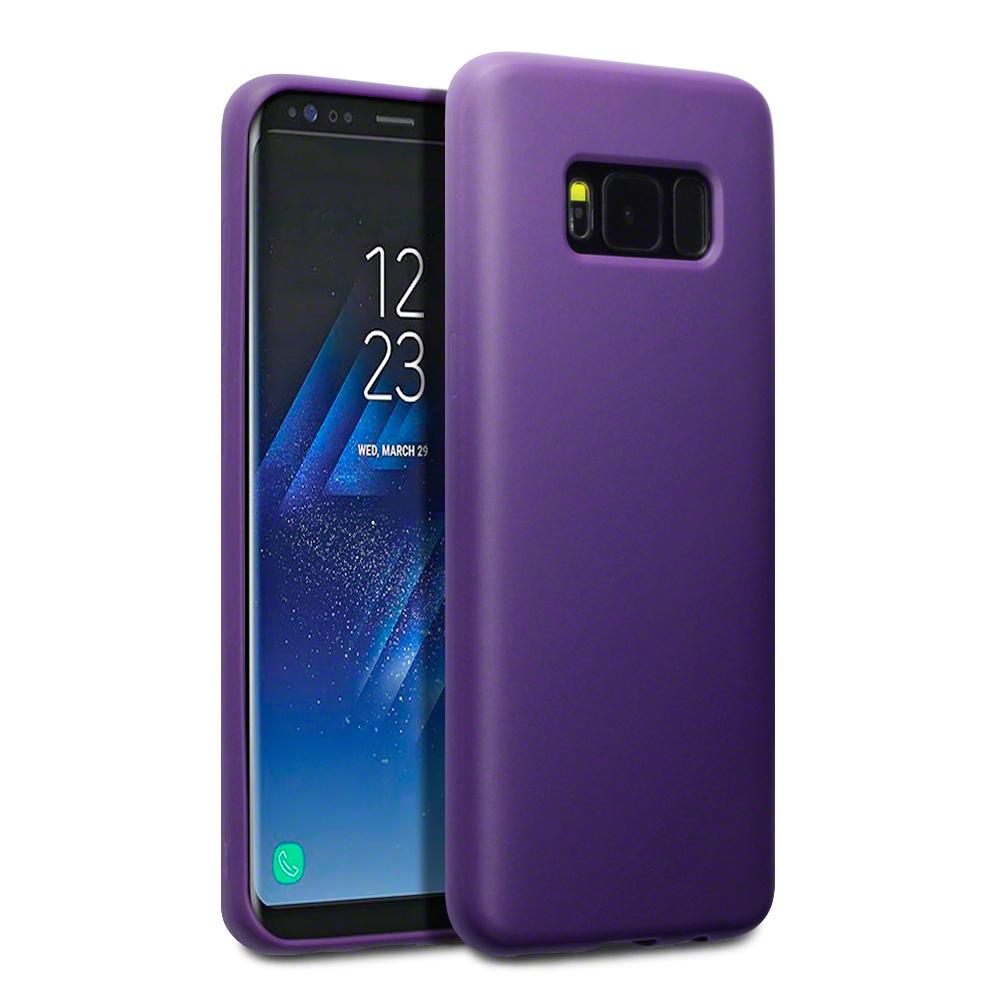 Terrapin Θήκη Σιλικόνης Samsung Galaxy S8 - Purple Matte (118-002-611)