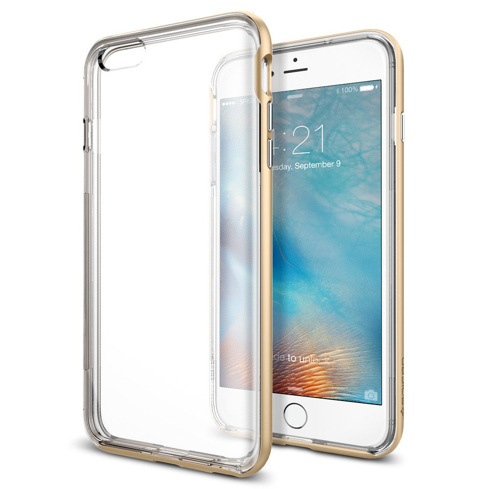 Spigen Θήκη Neo Hybrid Ex iPhone 6 Plus/6S Plus Bumper - Champagne Gold (SGP1166 θήκες κινητών