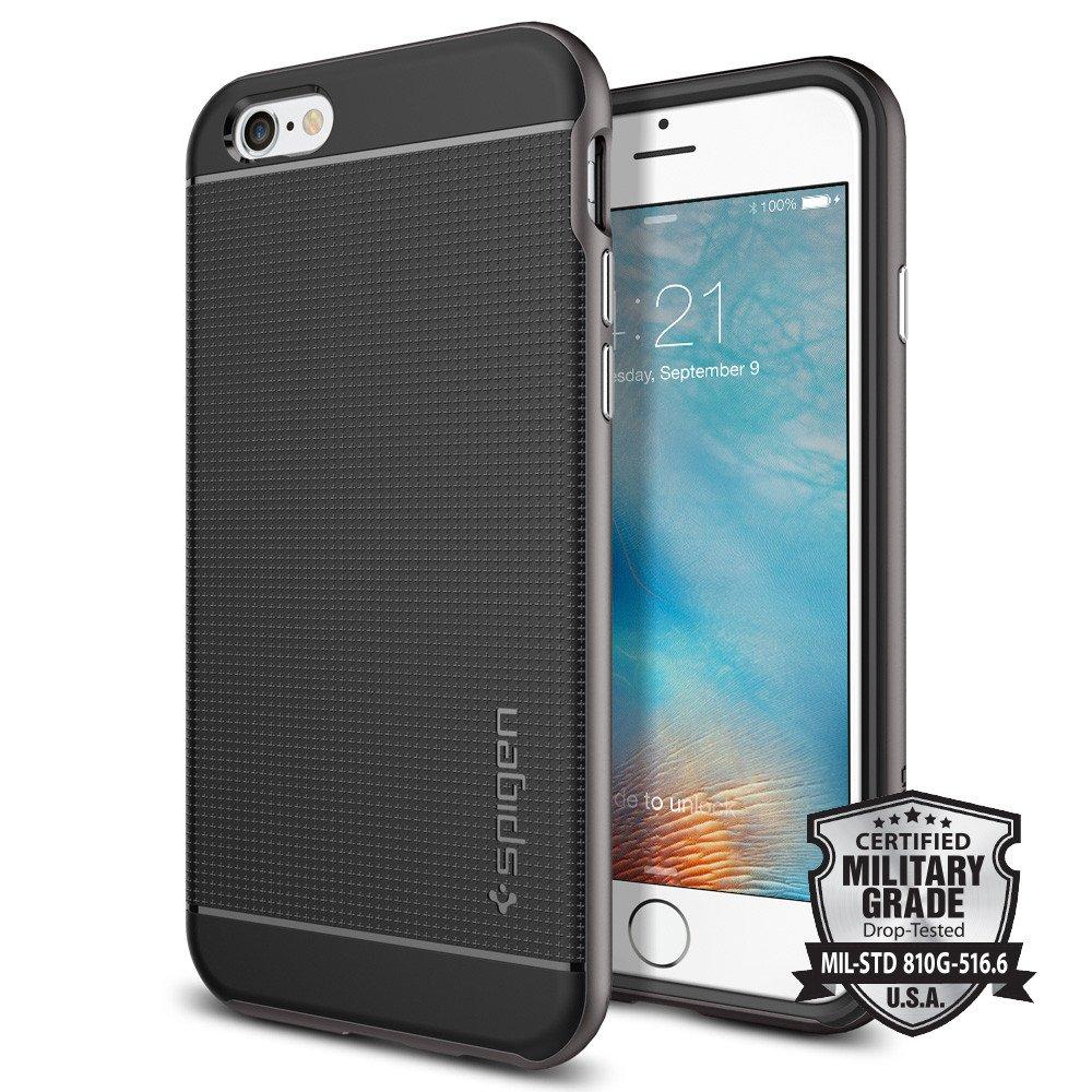 Spigen Θήκη Neo Hybrid iPhone 6/6S - Gunmetal (SGP11618)