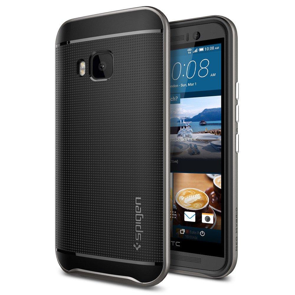 Spigen Θήκη Neo Hybrid HTC One M9 - Gunmetal (SGP11389) θήκες κινητών