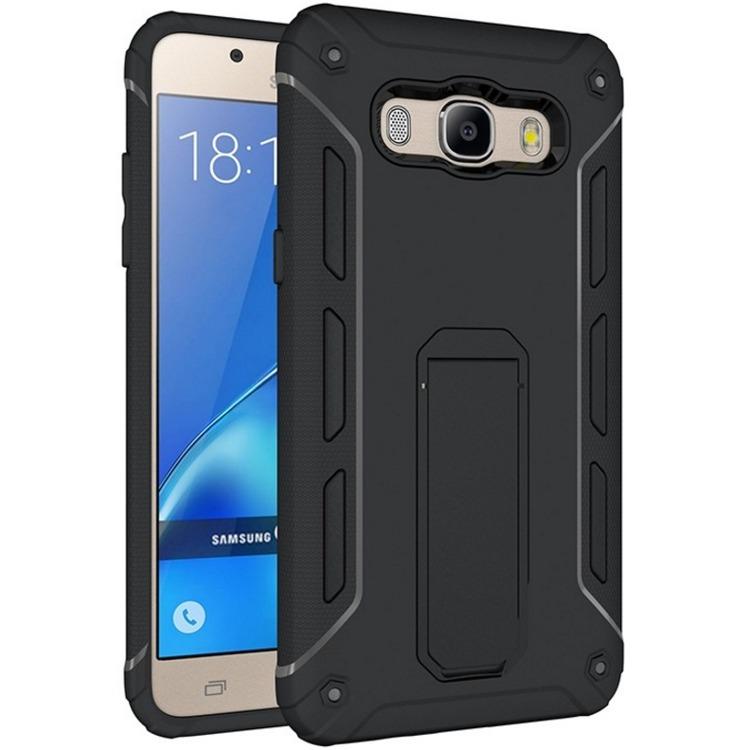 SHTL Θήκη με Stand Samsung Galaxy J5 (2016) - Black (141290)