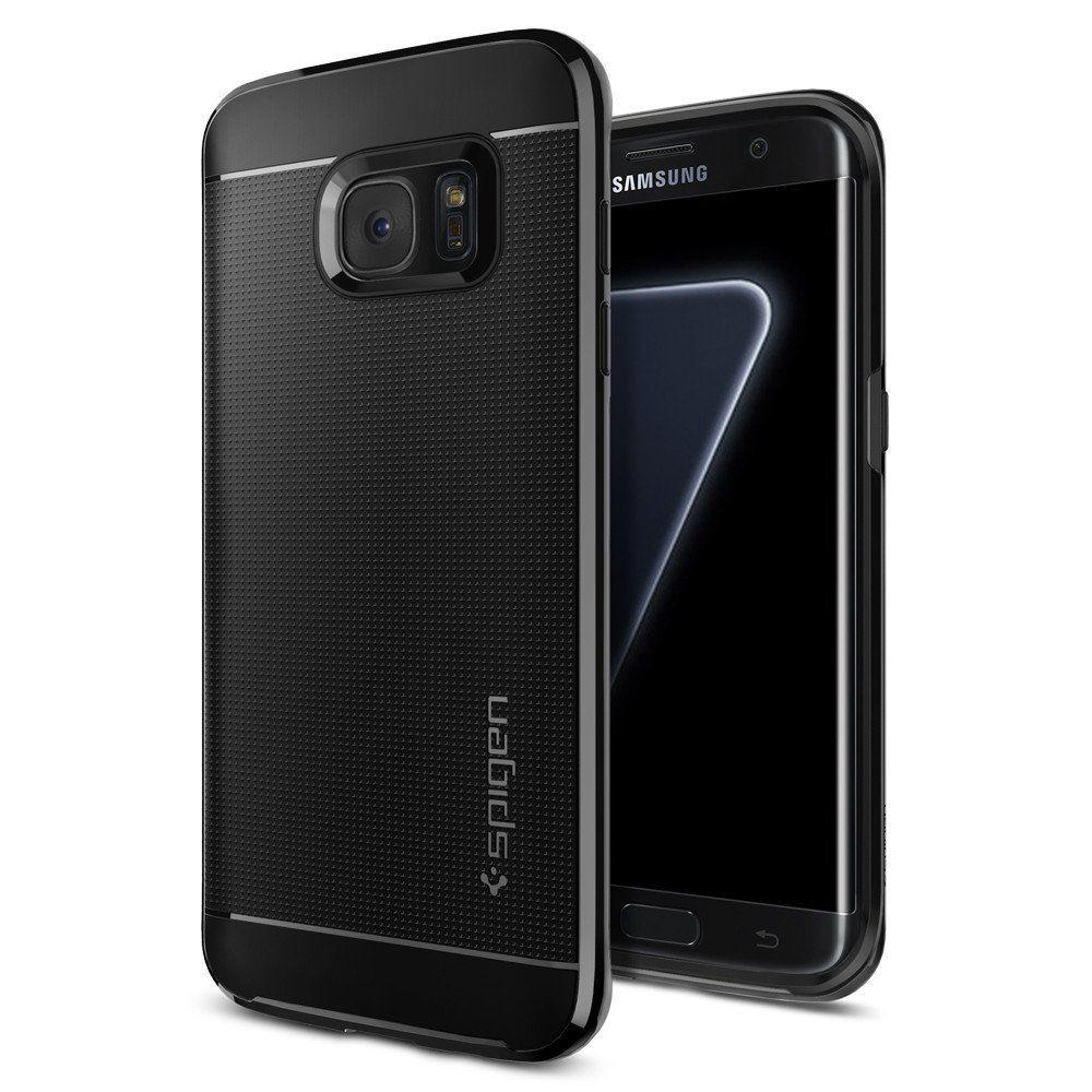 Spigen Θήκη Neo Hybrid Samsung Galaxy S7 Edge - Black Pearl (556CS21154) θήκες κινητών