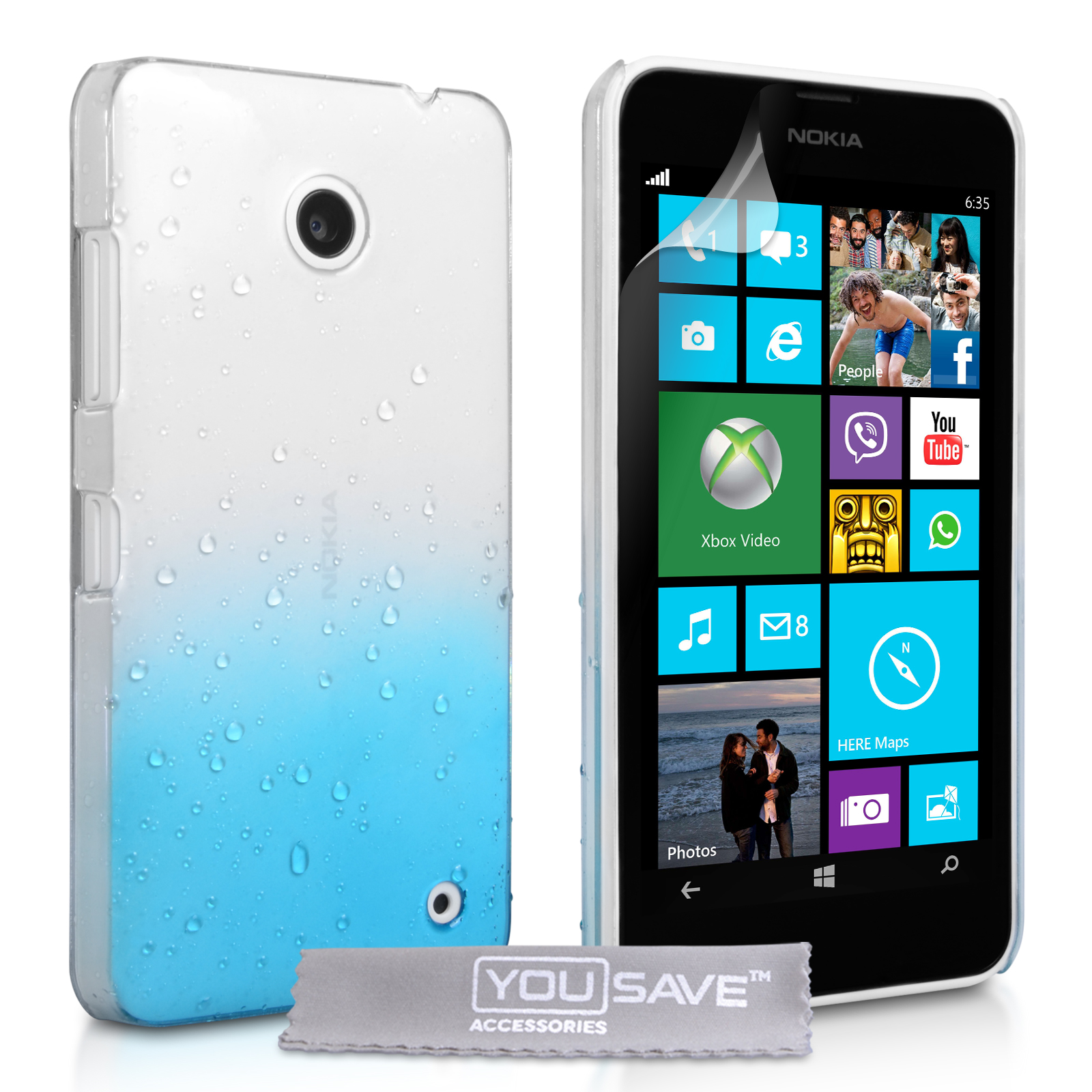 Θήκη Nokia Lumia 630/635 by YouSave (Z519)
