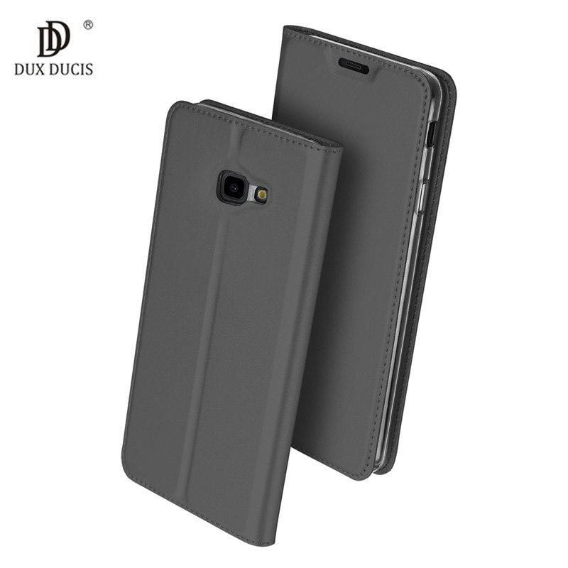 Duxducis Θήκη - Πορτοφόλι Samsung Galaxy J4 Plus 2018 - Gray (14370)