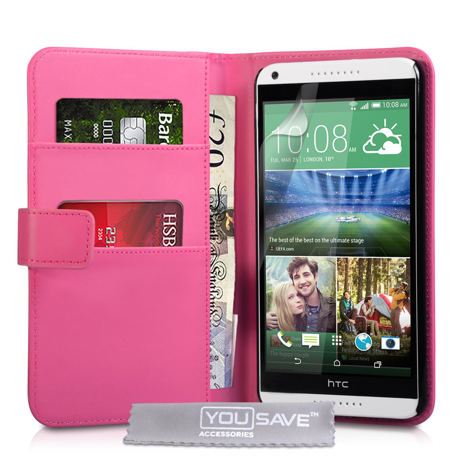 Θήκη HTC Desire 816 - Πορτοφόλι by YouSave (Z411)