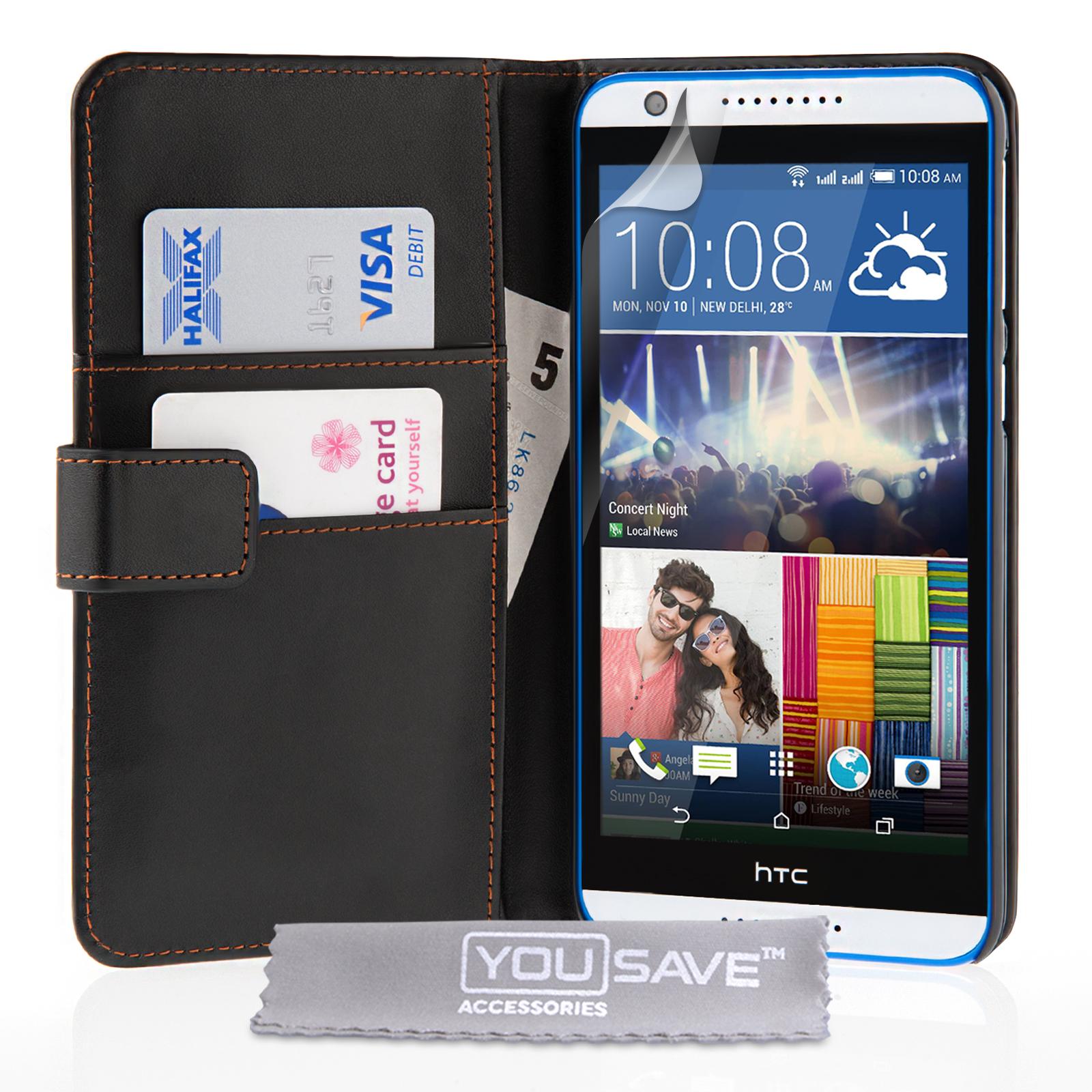 Θήκη HTC Desire 820 - Πορτοφόλι by YouSave (Z567H)