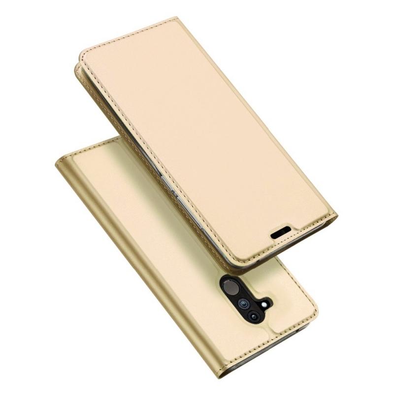 Duxducis Θήκη - Πορτοφόλι Huawei Mate 20 Lite - Gold (14150)