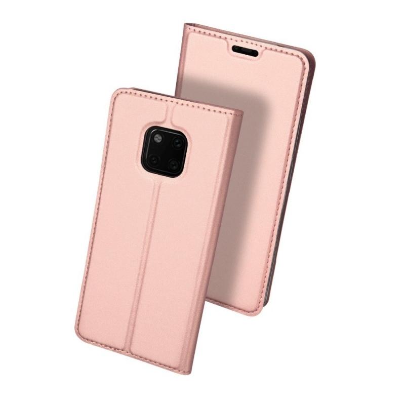 Duxducis Θήκη - Πορτοφόλι Huawei Mate 20 Pro - Rose Gold (14366)