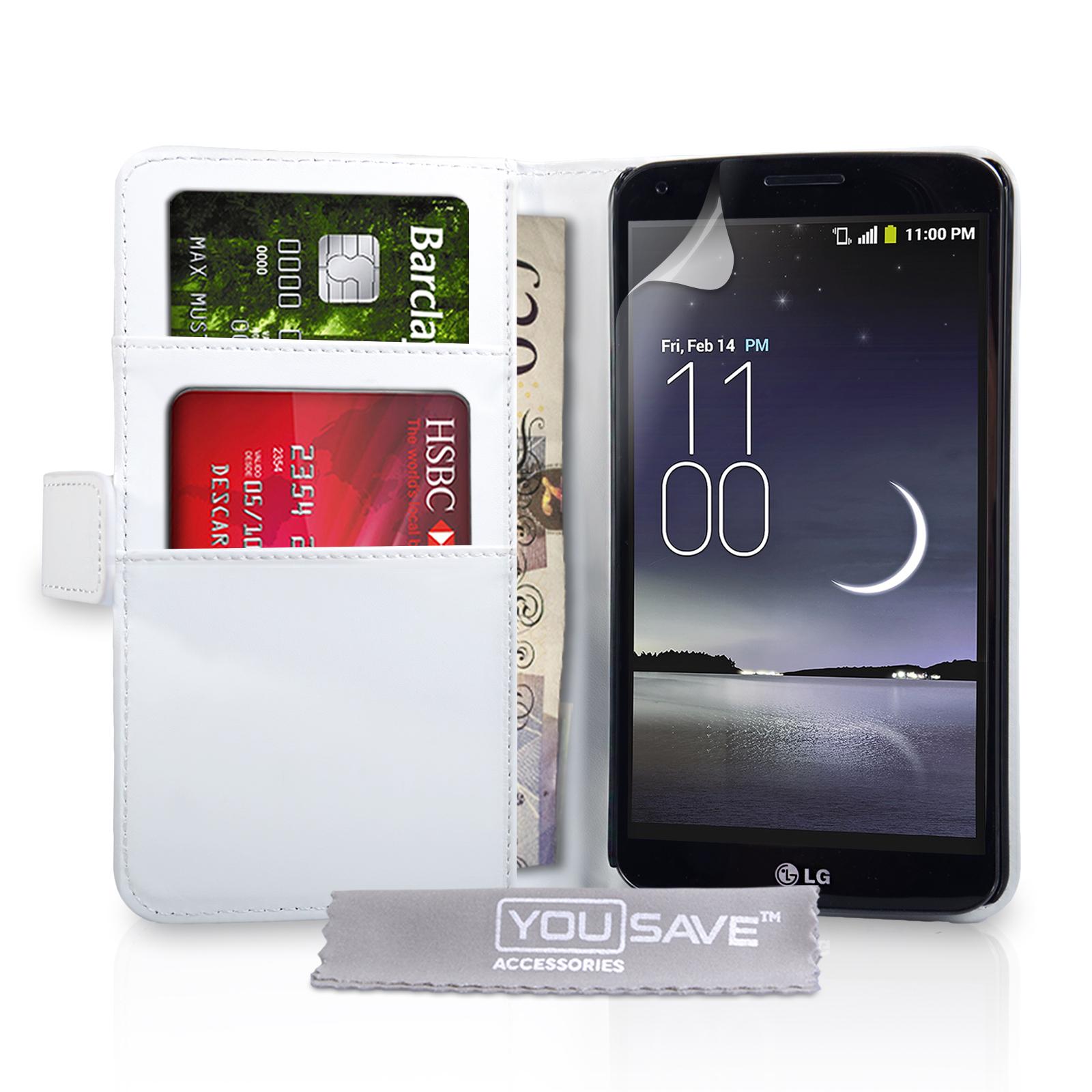 Θήκη LG G Flex - Πορτοφόλι by YouSave (Z204) μόδα