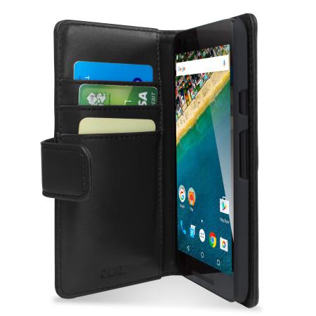 Δερμάτινη Θήκη LG Google Nexus 5X - Πορτοφόλι by Olixar (55464)