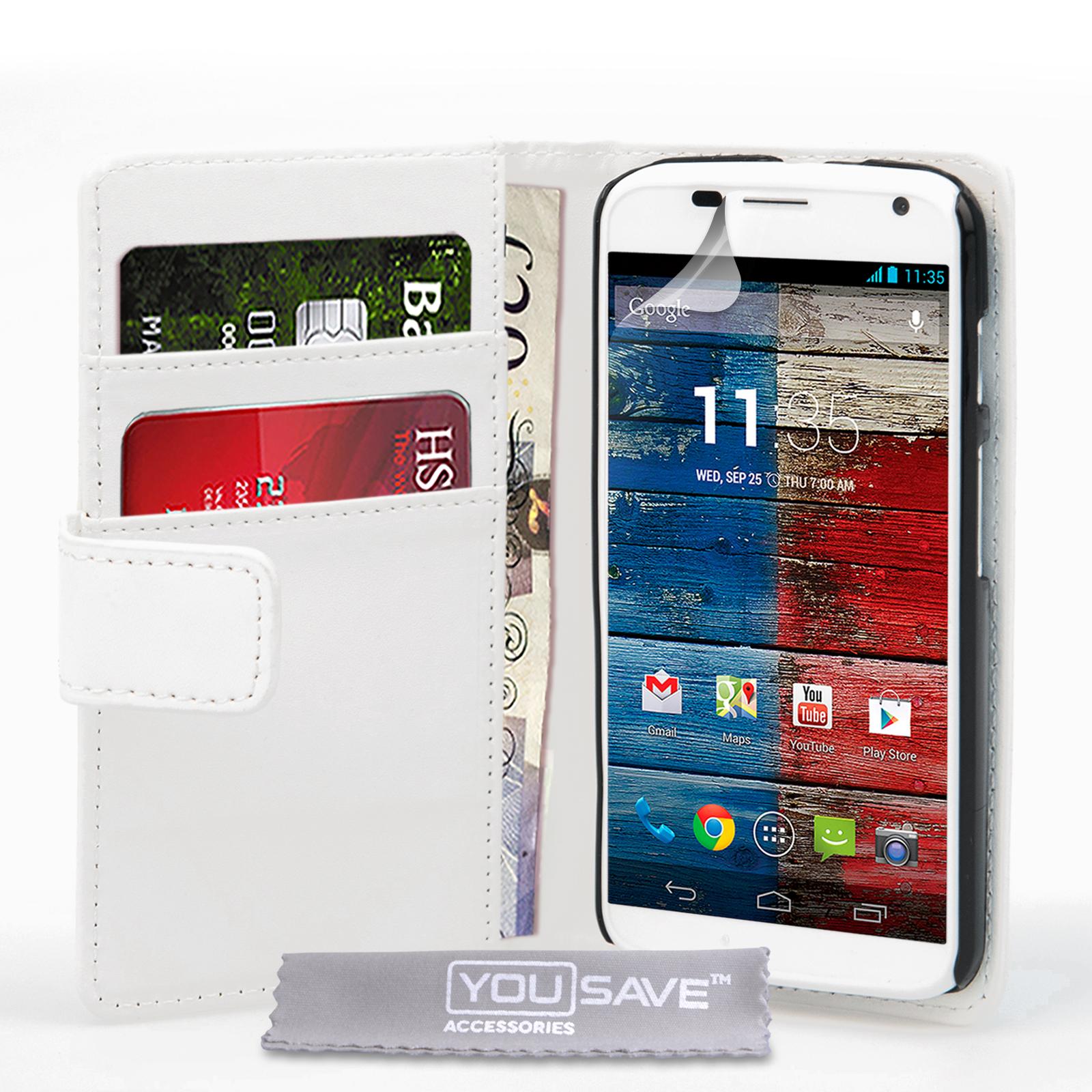 Θήκη Motorola Moto X - Πορτοφόλι by YouSave (Ζ190)