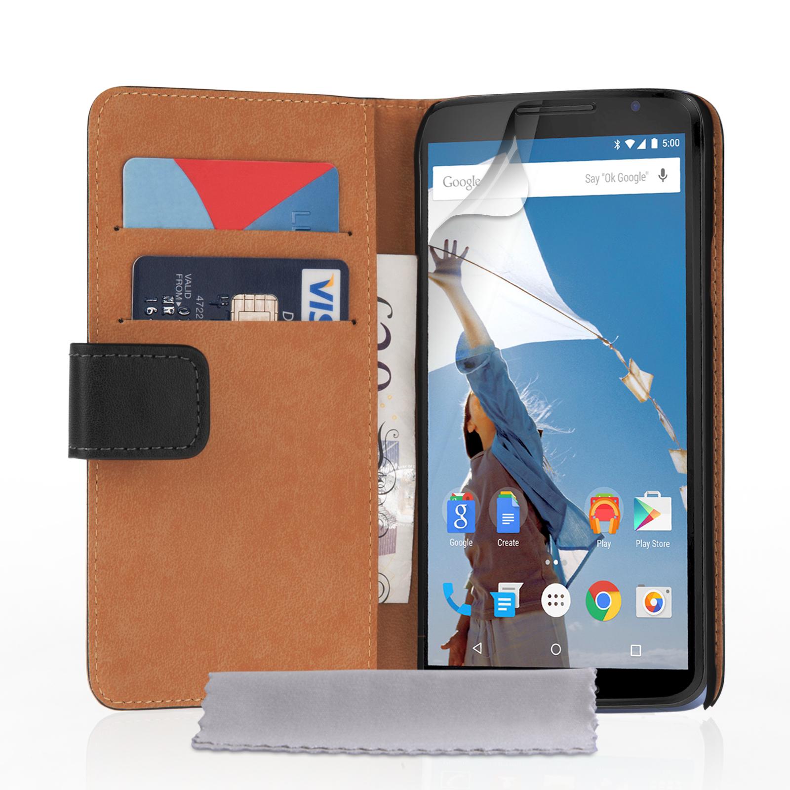 Θήκη Motorola Nexus 6 - Πορτοφόλι by Caseflex (Z451) μόδα