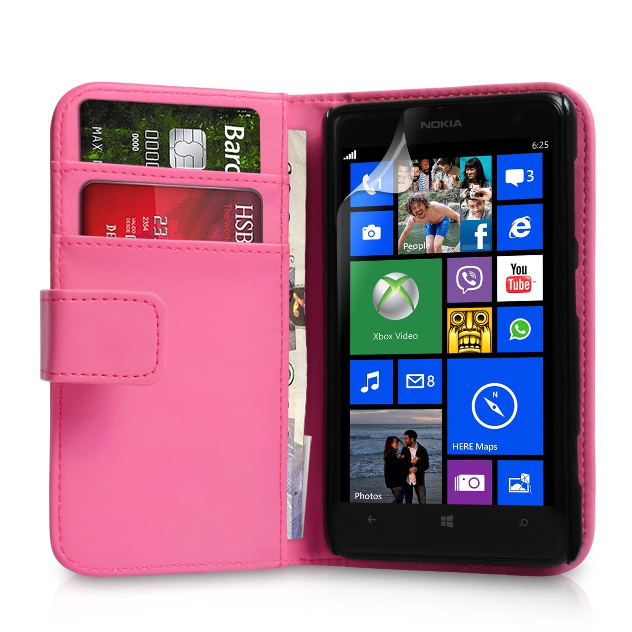 Θήκη Nokia Lumia 625 - Πορτοφόλι by YouSave (Z507)